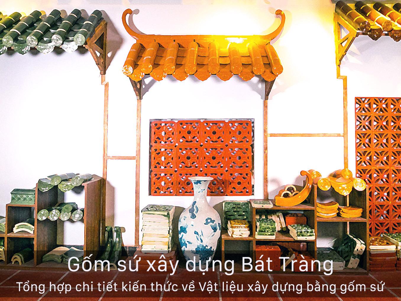 gom su xay dung Bat Trang