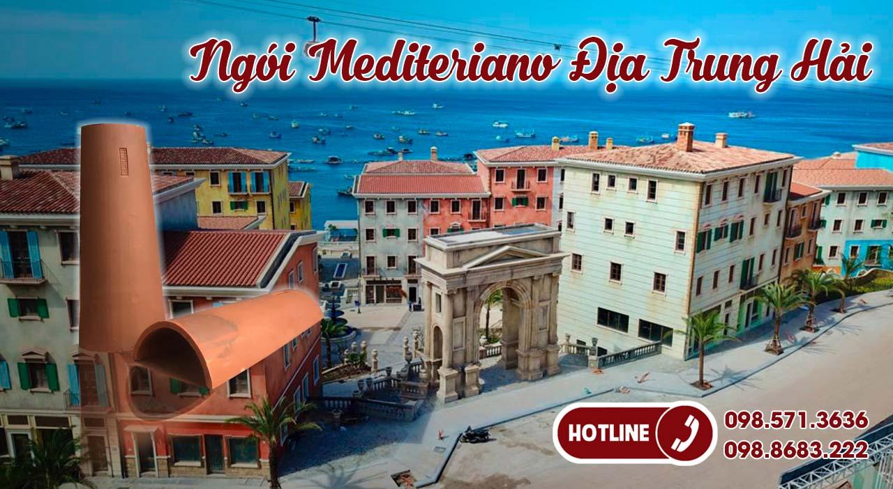 ngói mediteriano địa trung hải - ngói Hải Long