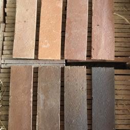 tông màu gạch lót sân vườn