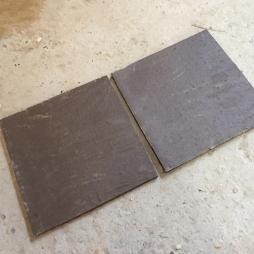 Gạch nâu Sành lát sân mỏng 300x300x15 mm