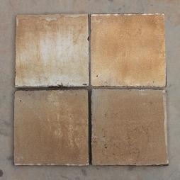 Gạch lát nền men khô nâu gấm Bát Tràng