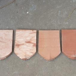 4 tông màu ngói Hài cổ