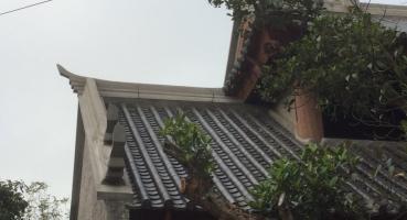 Ngói âm dương lợp chùa tại Hà Nam - Hải Long Tiles