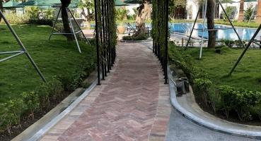 gạch lát nền khách sạn 5 sao silk path grand Huế