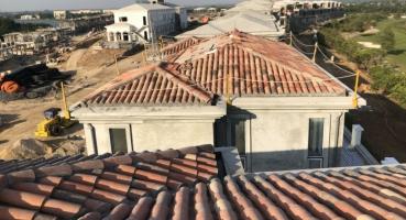 ngói lợp biệt thự nghỉ dưỡng mediteriano - Hải Long Tiles