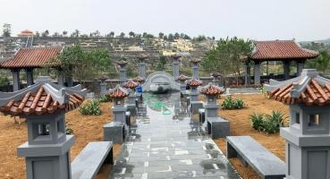 Gạch ngói lợp quần thể lăng mộ