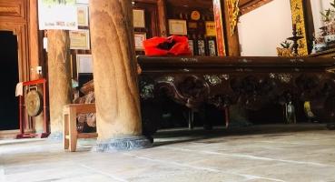 Kiến trúc gạch cổ nhà thờ họ chú Sơn tại Bắc Ninh hinh 2