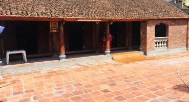 Kiến trúc gạch cổ nhà thờ họ chú Sơn tại Bắc Ninh hinh 6