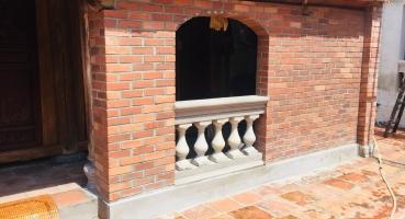 Kiến trúc gạch cổ nhà thờ họ chú Sơn tại Bắc Ninh
