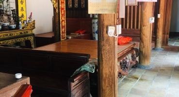 Kiến trúc gạch cổ nhà thờ họ chú Sơn tại Bắc Ninh hinh 3