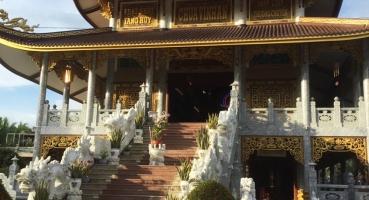 Ngói âm dương Hải Long lợp chùa Vĩnh An