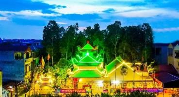 Công trình chùa tại Văn Lâm - Hưng Yên