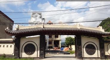 Ngói lợp cổng Biệt thự Kinh Môn Hải Dương