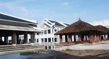 Ngói lợp Nhà hàng tiệc cưới Almaz - Vincom Village Sài Đồng hinh 2