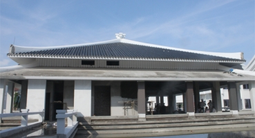 Ngói lợp Nhà hàng tiệc cưới Almaz - Vincom Village Sài Đồng hinh 3
