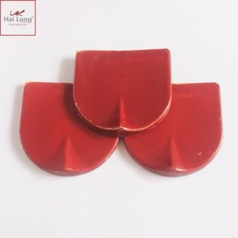 Ngói hài 150 men cam đỏ 01