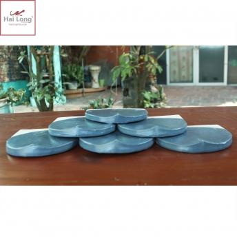 Ngói hài 150 men xanh đậm Bleu Fonte 01