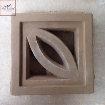 gạch bông gió lá đơn - Hải Long Tiles