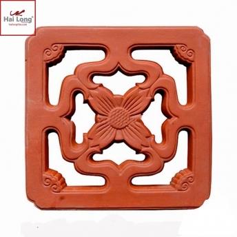 Gạch thông gió họa tiết hoa roi Bát Tràng - Hải Long Tiles