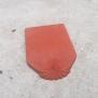 Ngói hài cổ màu đất nung cỡ đại 220 01