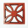 Gạch bông gió đất nung hoa chanh 30x30 cm - Hải Long Tiles