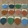 12 màu men ngói Hải Long 01