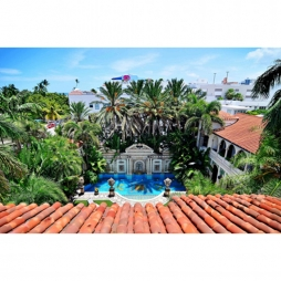 Siêu biệt thự của D.Beckham tại Miami và Madrid sử dụng ngói Địa Trung Hải