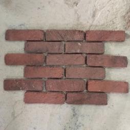 Gạch cổ ốp tường bề mặt nhám kích thước 200x55x12 mm