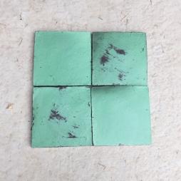 Gạch gốm thủ công ĐTH (Xanh green)