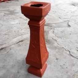 Lan can con tiện gốm cao 43 cm