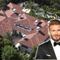 Ngói lợp biệt thự David Beckham tại Beverly Hills