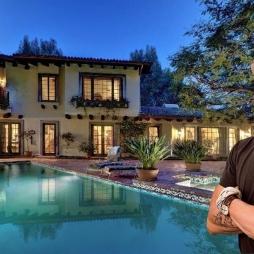 Biệt thự của Johnny Depp sử dụng ngói phong cách Địa Trung Hải