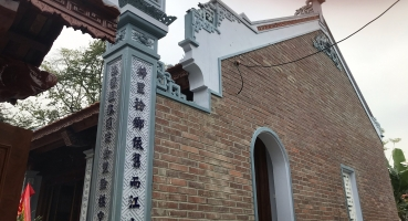Gạch xây nhà thờ họ - Hải Long Tiles Bát Tràng