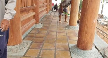 gạch cổ Bát Tràng gốm sứ xây dựng Hải Long Tiles