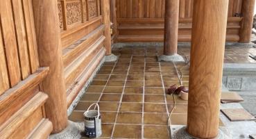 gạch cổ lát nền gốm sứ xây dựng Hải Long Tiles