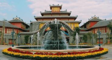 Ngói lợp cho Công viên Sun World Hạ Long Park