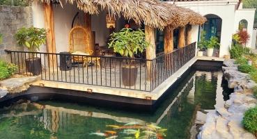 ngói mediteriano địa trung hải của khách hàng tại Hòa Binh - Hải Long Tiles