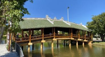 Ngói âm dương kiến trúc vinperl Nam Hội An