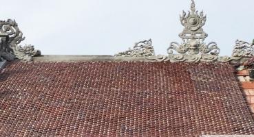 Nhà thờ họ - Hà Nam - Ngói hài kép men Cánh rán Cổ hinh 4