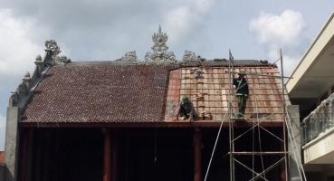 Nhà thờ họ - Hà Nam - Ngói hài kép men Cánh rán Cổ hinh 1