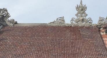 Nhà thờ họ - Hà Nam - Ngói hài kép men Cánh rán Cổ hinh 2