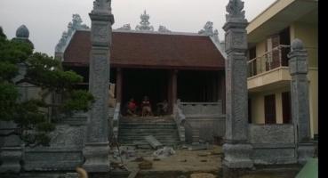 Nhà thờ họ - Hà Nam - Ngói hài kép men Cánh rán Cổ hinh 3